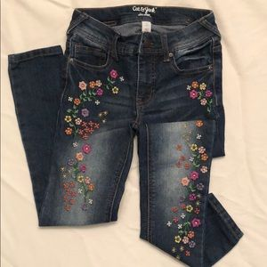 Cat & Jack embroidered Denim Jeans